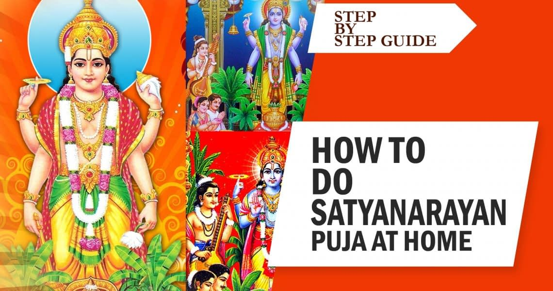 How to perform Satyanarayan Puja at home